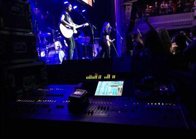 Sonorización de concierto en el Teatro Kapital