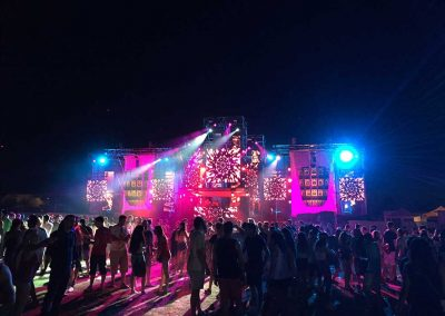 Stage sonido e iluminación