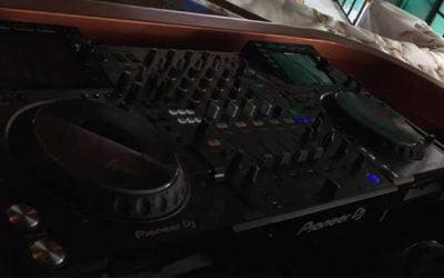 Instalación del equipo de sonido en Tatel Ibiza