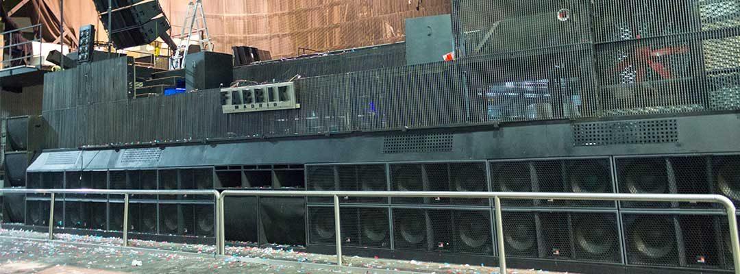 Actualización del equipo de sonido en Fabrik